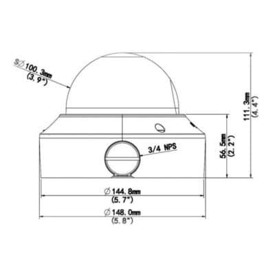 IPD-323x-28 rozměry