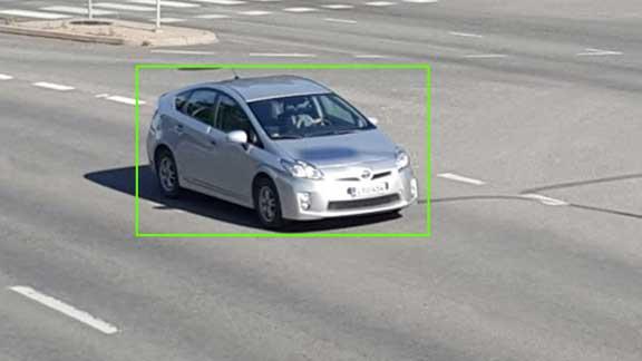 ilustrativni obrazek Motion detection car